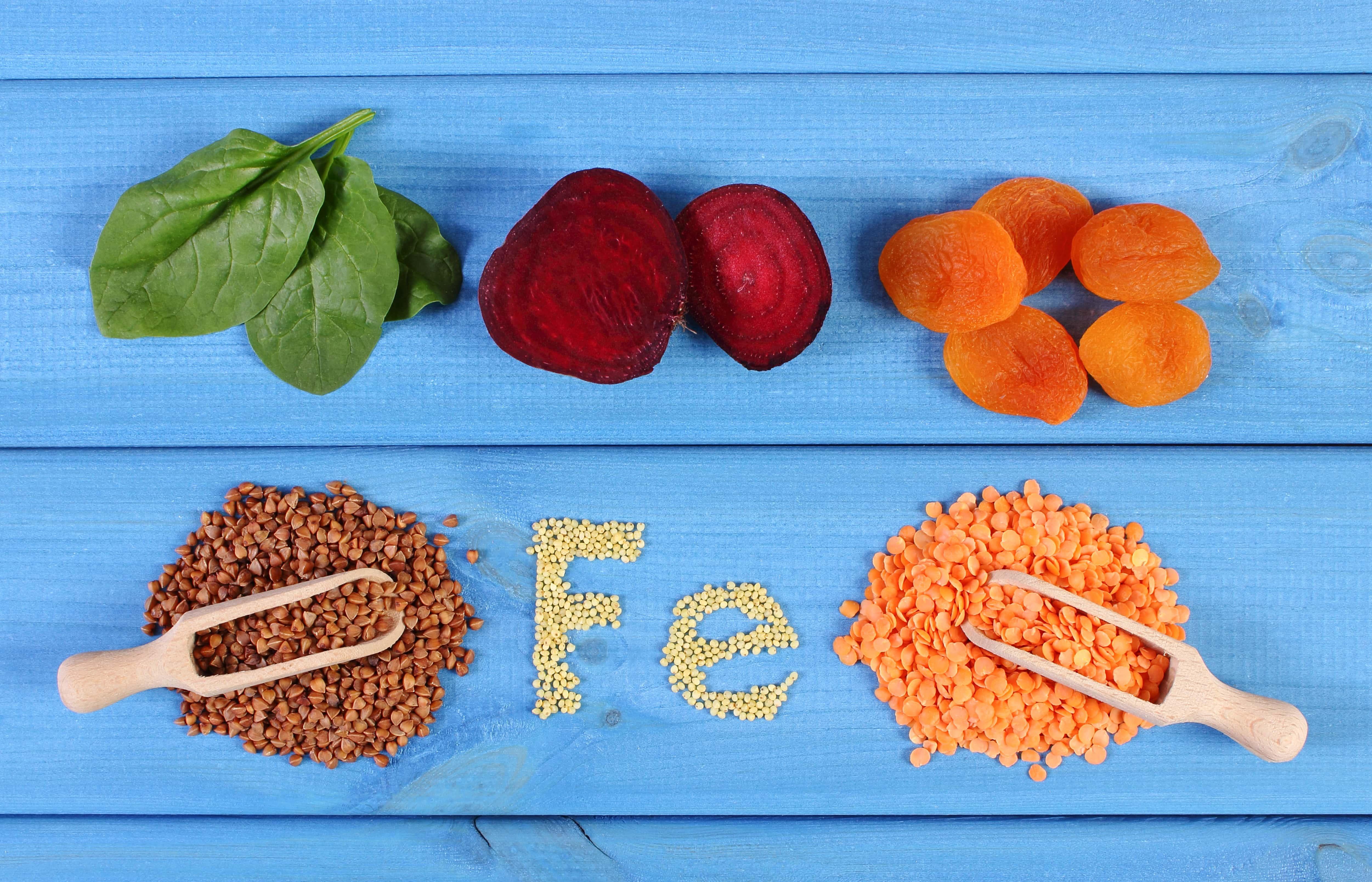 que comida es buena para la anemia