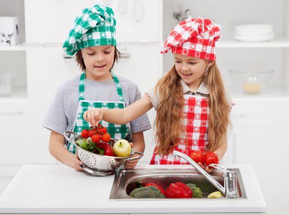 Educación alimentaria en niños
