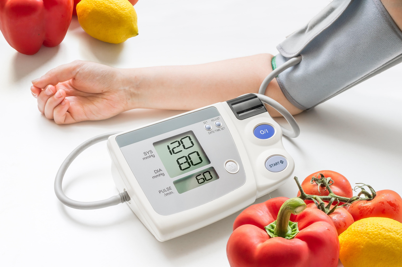 Tabla de dieta saludable para la presión arterial alta