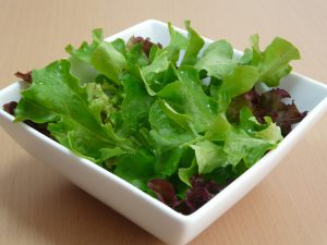 quitarse peso con ensalada