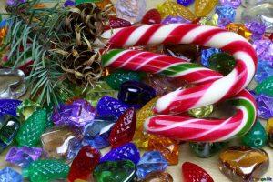 dulces en navidad