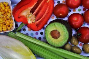 alimentacion saludable en la dieta de la zona