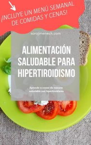 eBook – Alimentación saludable para Hipertiroidismo