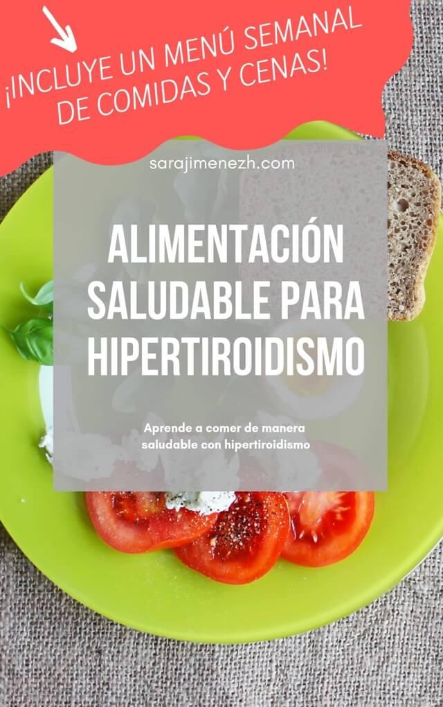 Con hipertiroidismo que se puede comer