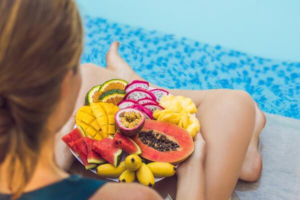 dieta para entrenar natacion