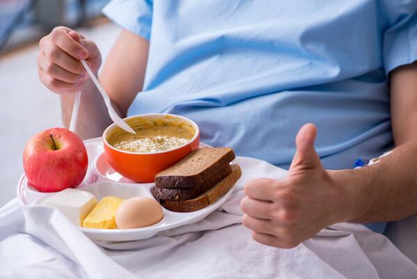 alimentacion paciente hospitalizado