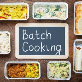 Batchcooking: cocina saludable un día para toda la semana